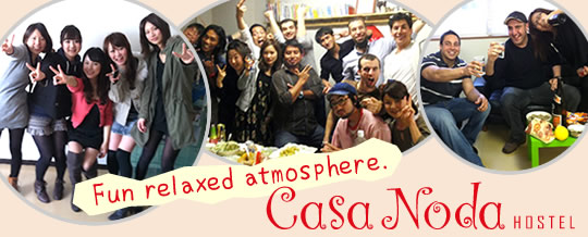 Fun relaxed atmosphere. casanoda